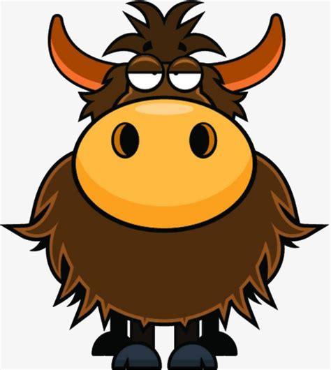 Yak Clipart The Yak Is Sleepy Drowsy Yak Yak Drowsy Png