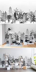 Papier Peint Bureau : 1001 astuces et id es pour choisir un papier peint ~ Melissatoandfro.com Idées de Décoration
