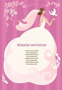Wedding Invitation Vector Illustration | Free Vector ...