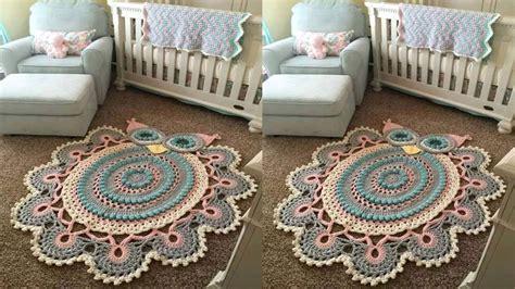como tejer tapetes y carpetitas tejidos a crochet el paso a paso n 186 07 youtube