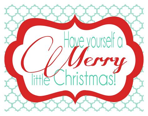 52 Mantels Free Christmas Printable