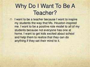 i want to become a teacher essay for kids