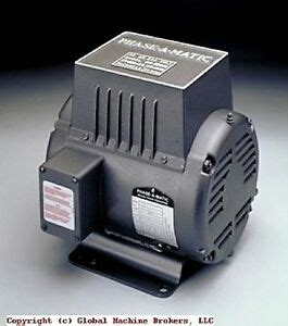 New Phase Matic Rotary Converter Other