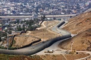 California Mexico Border Wall