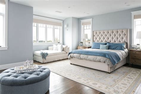 A Seascape Light Blue Bedroom — Incredible Homes