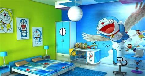 cute doraemon room wall wallpapers