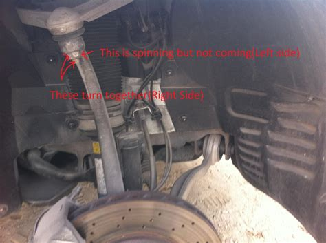 Loose Nuts On Upper Control Arm Ball Joint