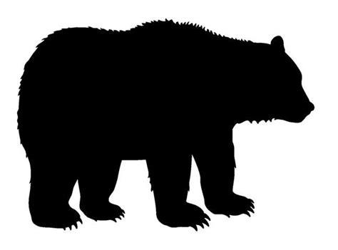 25+ Best Ideas About Bear Silhouette On Pinterest