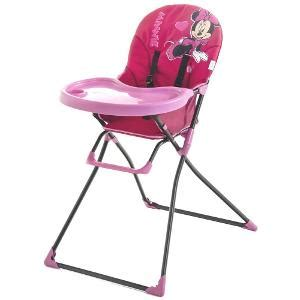 chaise haute mickey hauck mac babyv minnie pink high chair baby carriers