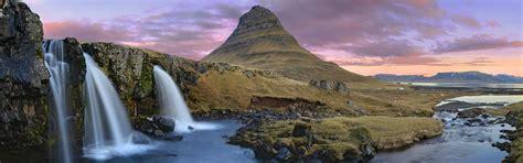 Kirkjufell Mountain Waterfalls Iceland Wallpapers In