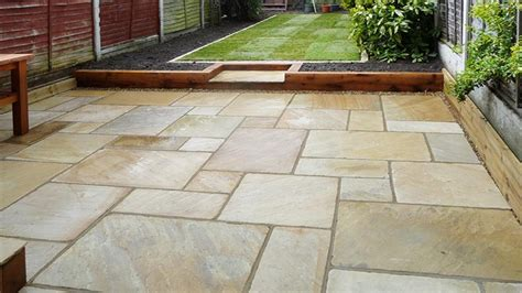 stone patios  maintenance patio garden affordable