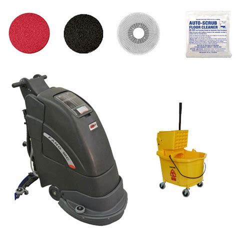 Automatic Floor Scrubber Machine by Electric Floor Scrubber Floor Machine Gold Package