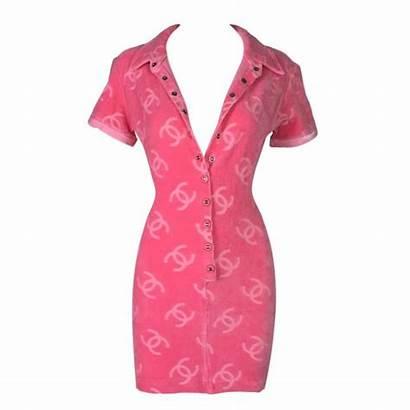 Chanel Pink Mini Velvet