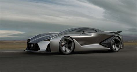 nissan concept  vision gran turismo  real driving