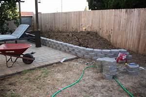 Amazing Chic Retaining Wall Home Depot With Can You Brick ...