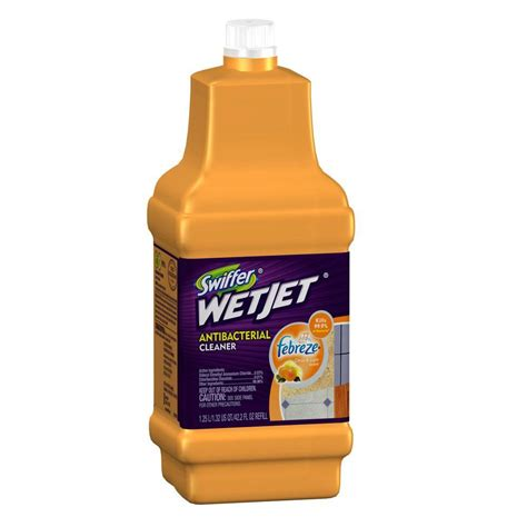 swiffer wetjet wood floor cleaner refill swiffer wetjet 42 oz multi purpose floor cleaner refill