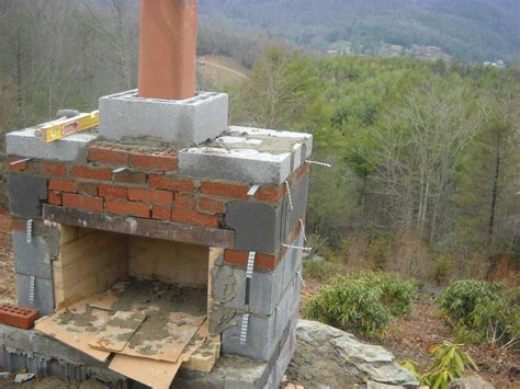 The Gallery For How To Build An Outdoor Fireplace With