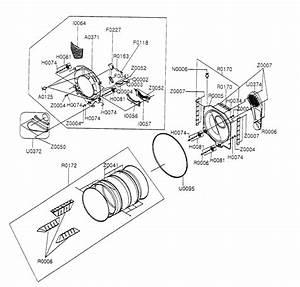 Samsung Dryer Front Door Parts