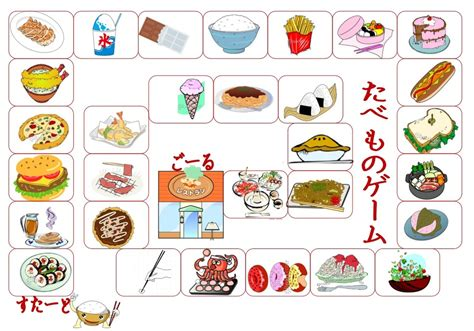 Food Board Games Images