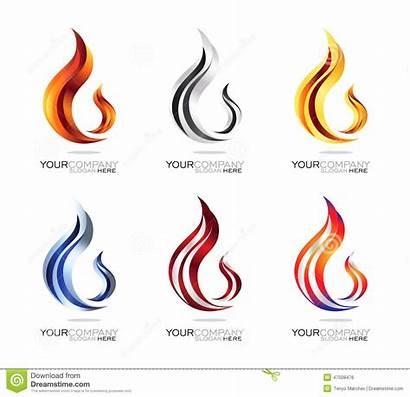 Fire Flame Flamme Fiamma Editable Smoke Vektor