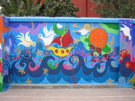 murales escolares creativos Buscar con Google Mundo