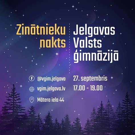 Zinātnieku nakts Jelgavas Valsts ģimnāzijā - Jelgavas ...