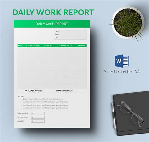 Daily Report Template - 25+ Free Word, Excel, PDF ...