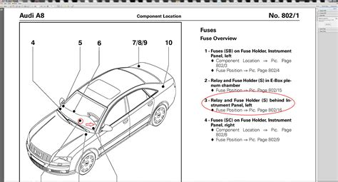 1998 Audi A4 Fuse Diagram by 1998 Audi A8 Fuse Box Audi Auto Wiring Diagram
