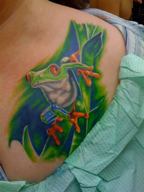 frog tattoo images designs