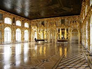 Catherine's Palace Interior | Catherine's Palace ballrooms ...