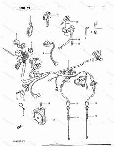Suzuki Motorcycle 1983 Oem Parts Diagram For Wiring
