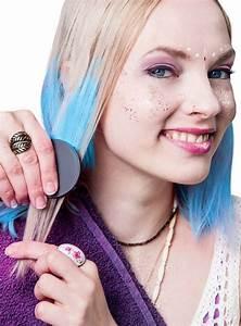 Haarkreide Blau