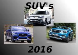 suv modelle 2016 hier finden sich suvs ab baujahr 2016