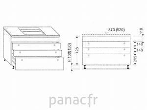 meuble sous plaque de cuisson oc 90 stm 4 With meuble sous plaque de cuisson