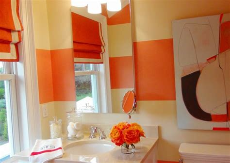 cool orange bathroom design ideas digsdigs