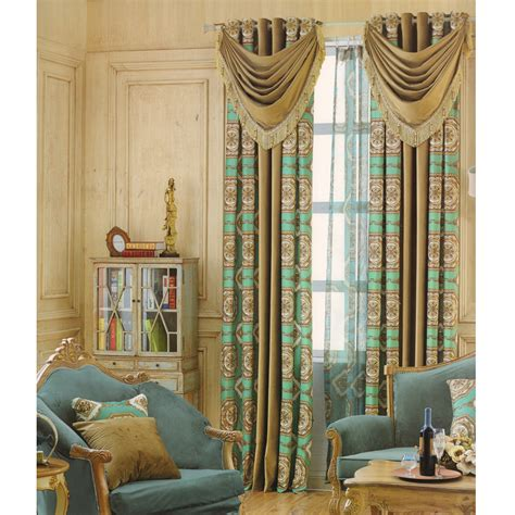 Cheap Curtains For Living Room Exqusite(no Valance
