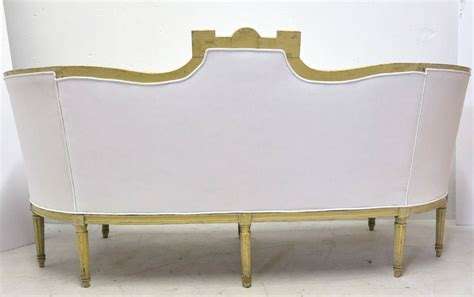 canapé style louis philippe 19th century louis philippe curved painted canape