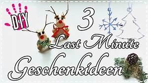 Last Minute Weihnachtsgeschenke Selber Machen : 3 diy last minute geschenkideen selber machen tutorial youtube ~ Markanthonyermac.com Haus und Dekorationen