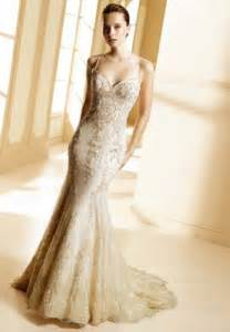 gold wedding dresses gorgeous photos of wedding dresses with gold lace sang maestro