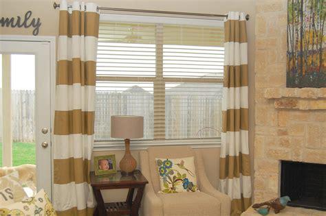 horizontal stripe grommet curtains curtain menzilperde net