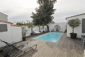 Location de vacances le bois plage en re villa avec for Location vacances ile de re avec piscine