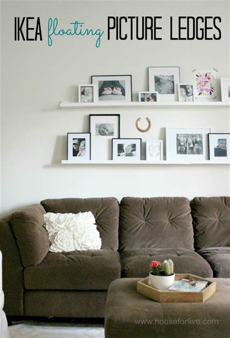 ikea photo ledges picture ledges photo gallery tips and a giveaway house for six