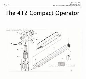 Replacement Parts Diagram   455d Control Board