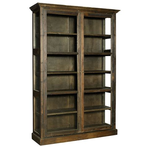 cabinet furniture large glass tall display cabinet by bell blue