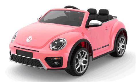 volts beetle dune voiture electrique electrique rose