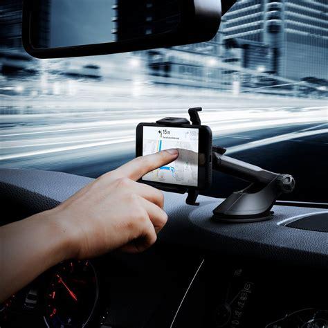 Spigen Kuel OneTap AP12T Car Phone Mount Universal Car Phone Holder With OneTap Technology & Low Profile Design for iPhone 7 / 7 Plus / 6S / 6S Plus / Galaxy S8 / S8 Plus / S7 / S7 Edge / LG - Black