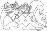 Mardi Gras Coloring Pages Parade Happy Sheets Printable Colouring Floats Carnival Drawings Books Drawing Occasions Holidays Special Getdrawings sketch template
