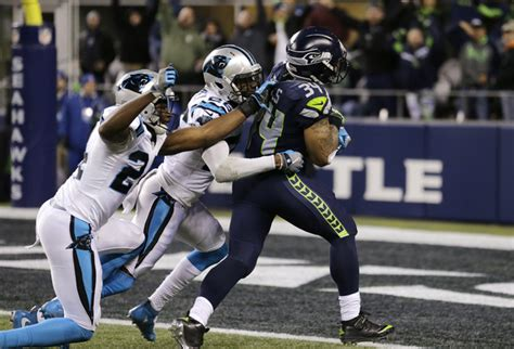 thomas rawls leads seahawks    pummeling  panthers