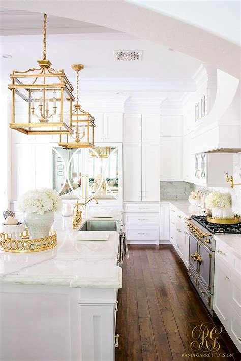 Amazing Kitchen Design With Touches Of Gold by 3 Days Of Glam Home Tour Quot Fabulous