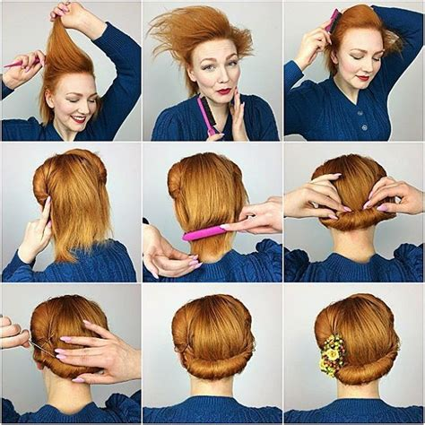 1940s Hairstyles Tutorial by The 25 Best 1940s Hairstyles Ideas On Vintage